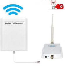 HJCINTL Cell Phone Signal Booster AT&T 4G LTE Mobile Booster FDD High Gain Band 12/17 Wireless Signal Boosters Home Mobile Phone Signal Booster Repeater Kits