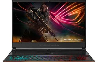 """ASUS ROG Zephyrus S Ultra Slim Gaming PC Laptop, 15.6"""" 144Hz IPS Type, Intel Core i7-8750H CPU, GeForce GTX 1070, 16GB DDR4, 512GB PCIe SSD, Military-Grade Metal Chassis, Win 10 Home – GX531GS-AH76"""
