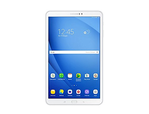 Samsung Galaxy Tab A SM-T585 16GB White, 10.1″ , WiFi + Cellular Tablet, GSM Unlocked International Model, No Warranty
