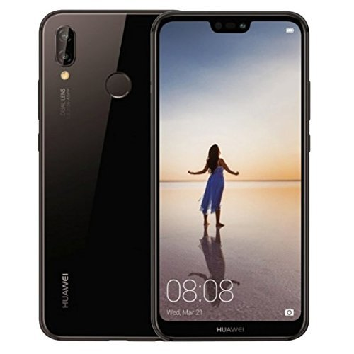 HUAWEI P20 Lite (32GB + 4GB RAM) 5.84″ FHD+ Display, 4G LTE Dual SIM GSM Factory Unlocked Smartphone ANE-LX3 – International Model – No Warranty (Midnight Black)
