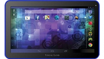 Visual Land Prestige 10D Dual Core 16GB Android 4.2 Tablet with Google Play (Blue)